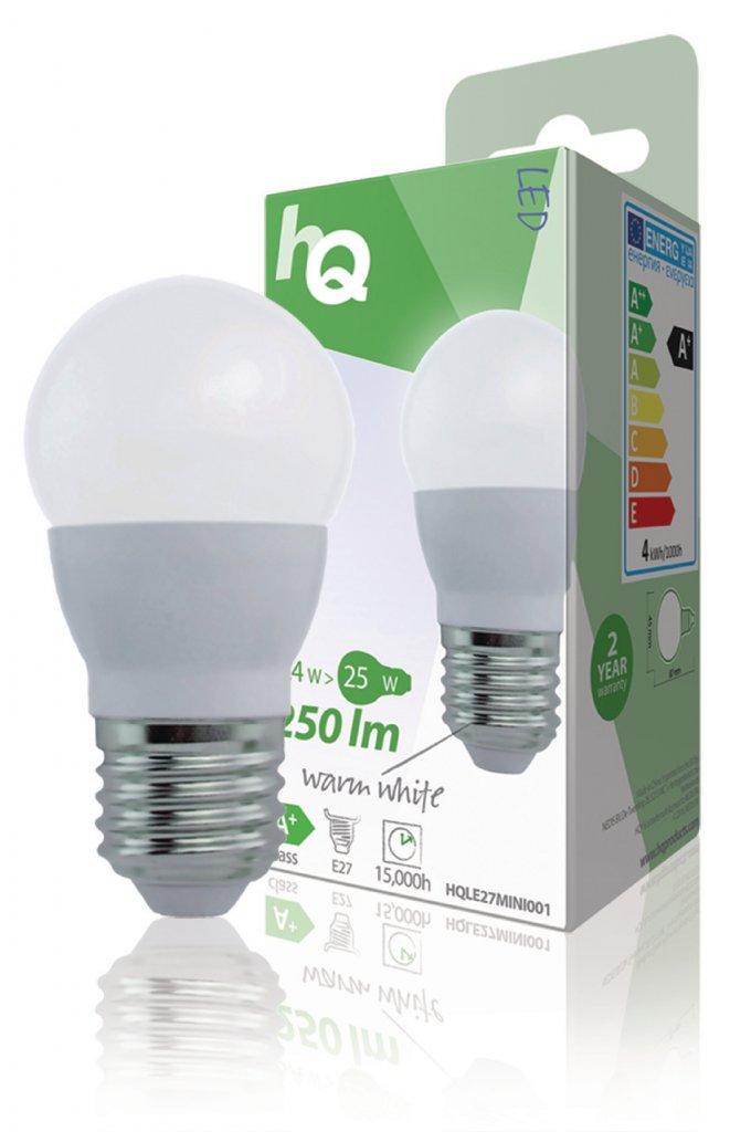 LED Lampa E27, 3,6 W 250 lm 2700 K